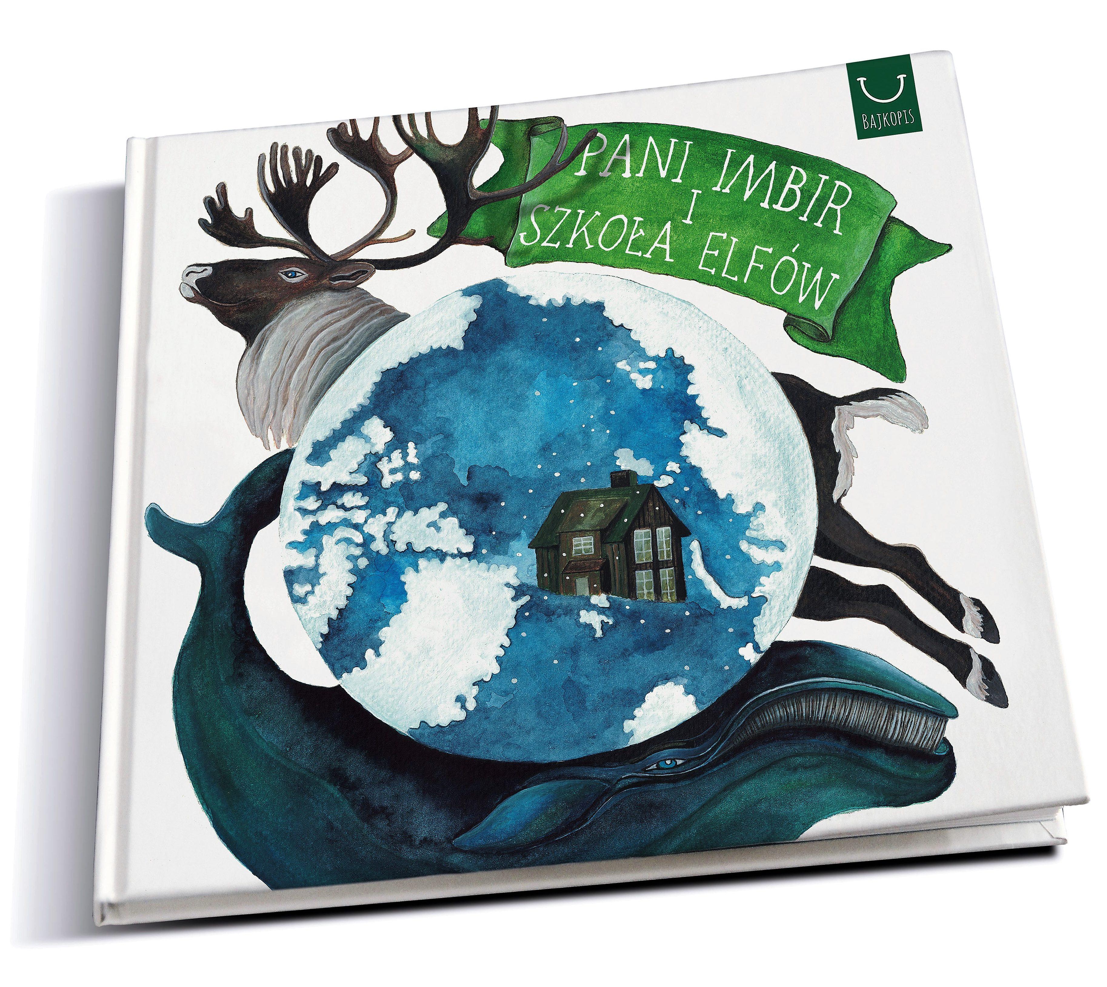 Książka na świąteczny prezent - Pani Imbir i Szkoła Elfów