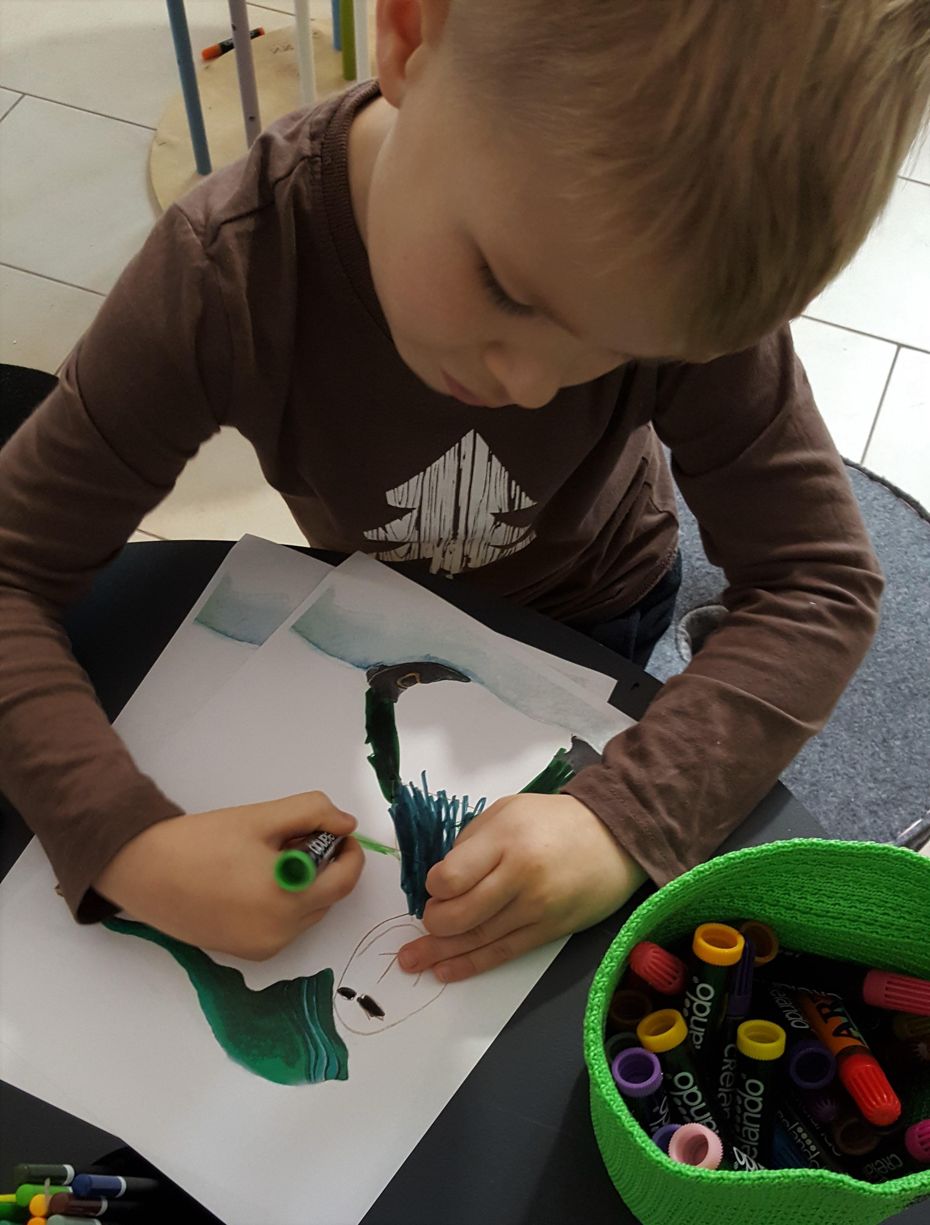 Rysowanie elfa - Pani Imbir i Szkoła elfów