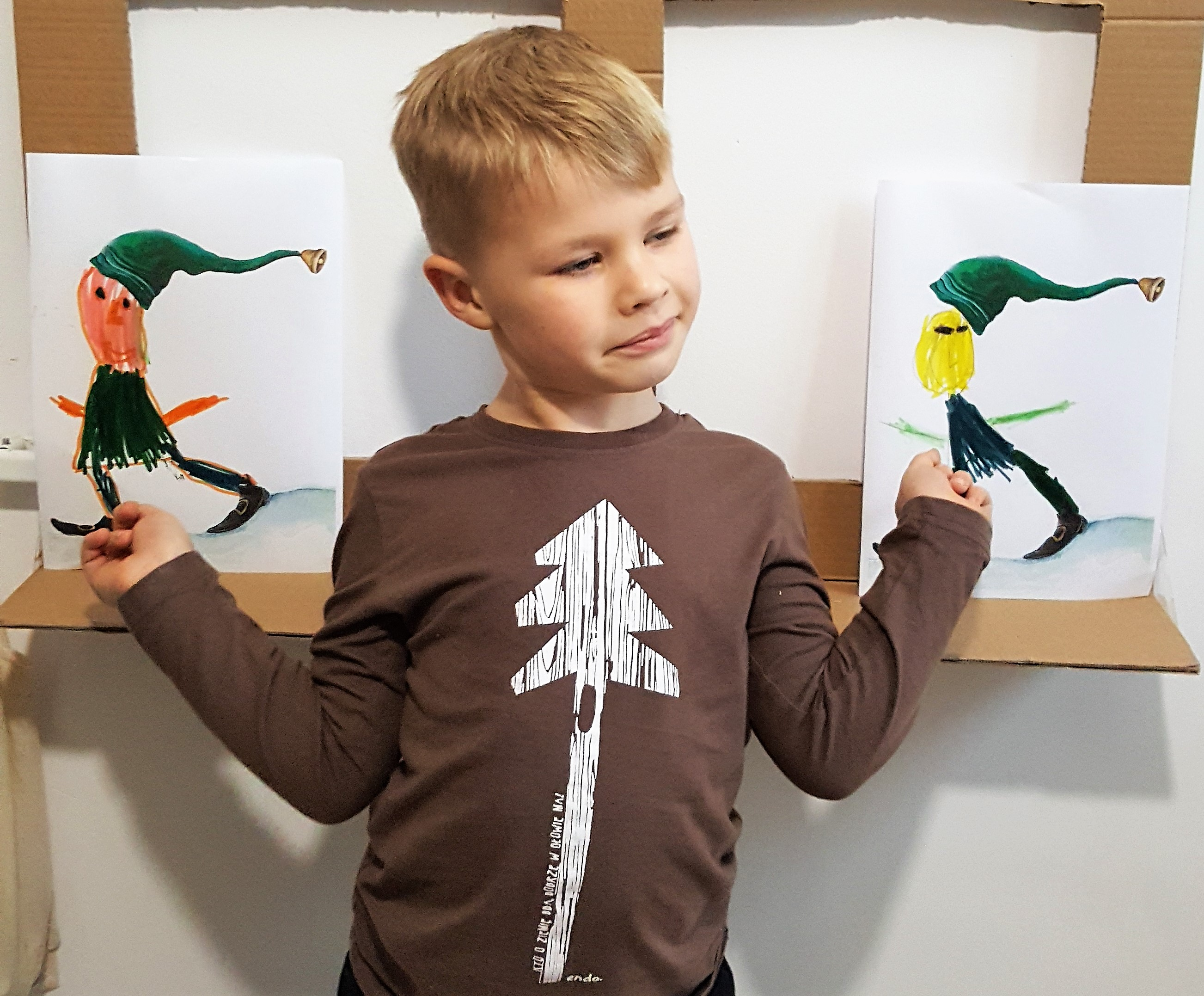 Elfy - Pani Imbir i szkoła elfów