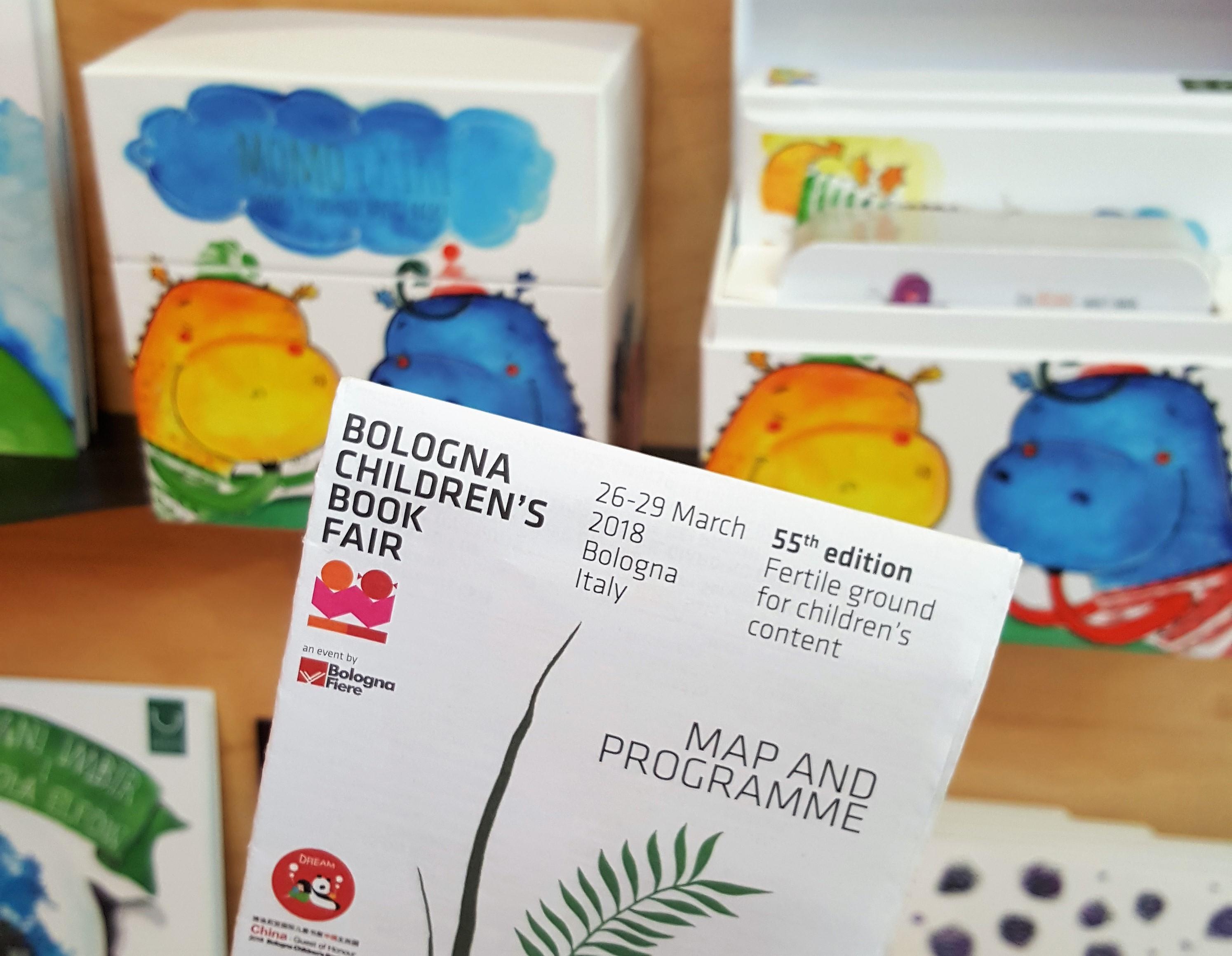 Targi książki dla dzieci w Bolonii