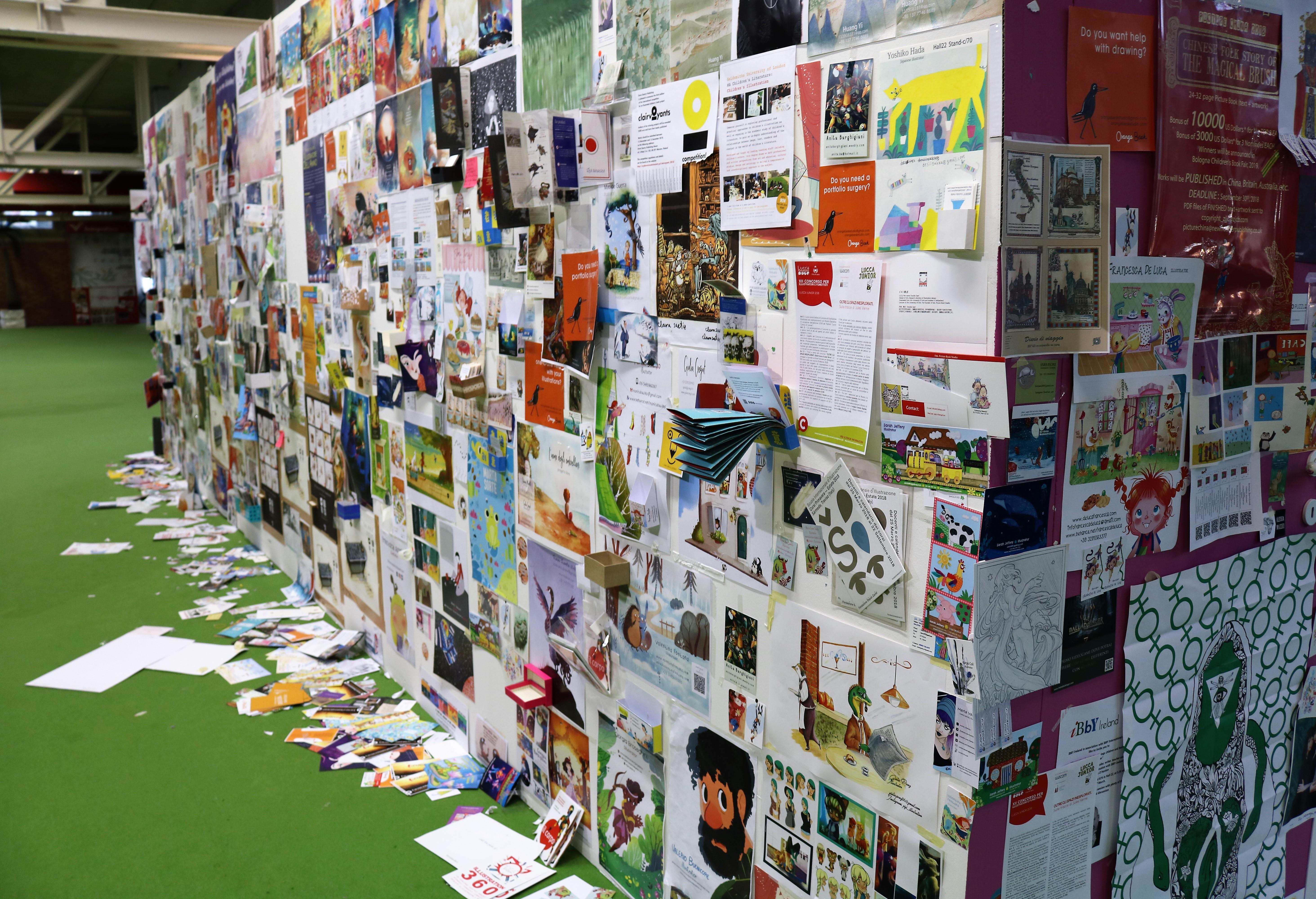 Targi książki dla dzieci Bolonia 2018
