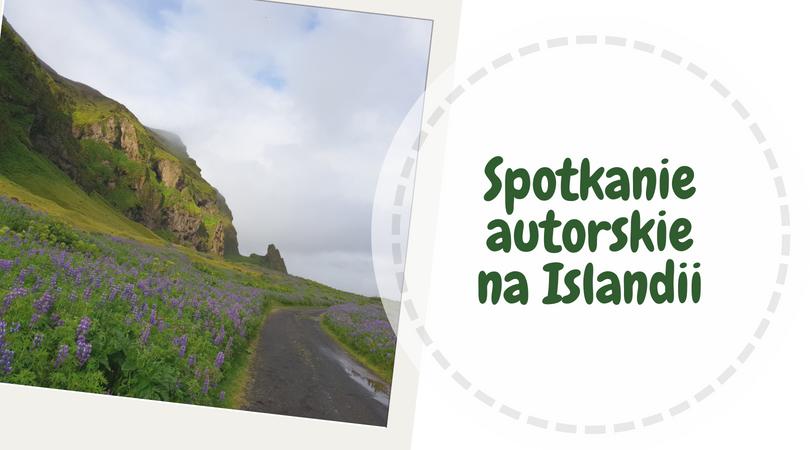 Bajkopis spotkanie autorskie na Islandii
